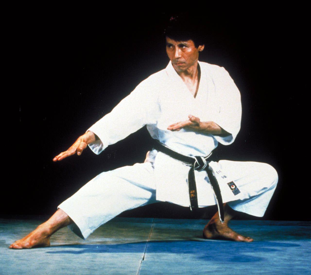 Sensei Masao Kawazoe. Old school. Unbelievable form.