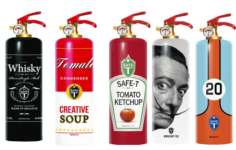 Safe T Designer Fire Extinguishers Are The Hottest Safety Decor For Your Home Ideias Casas