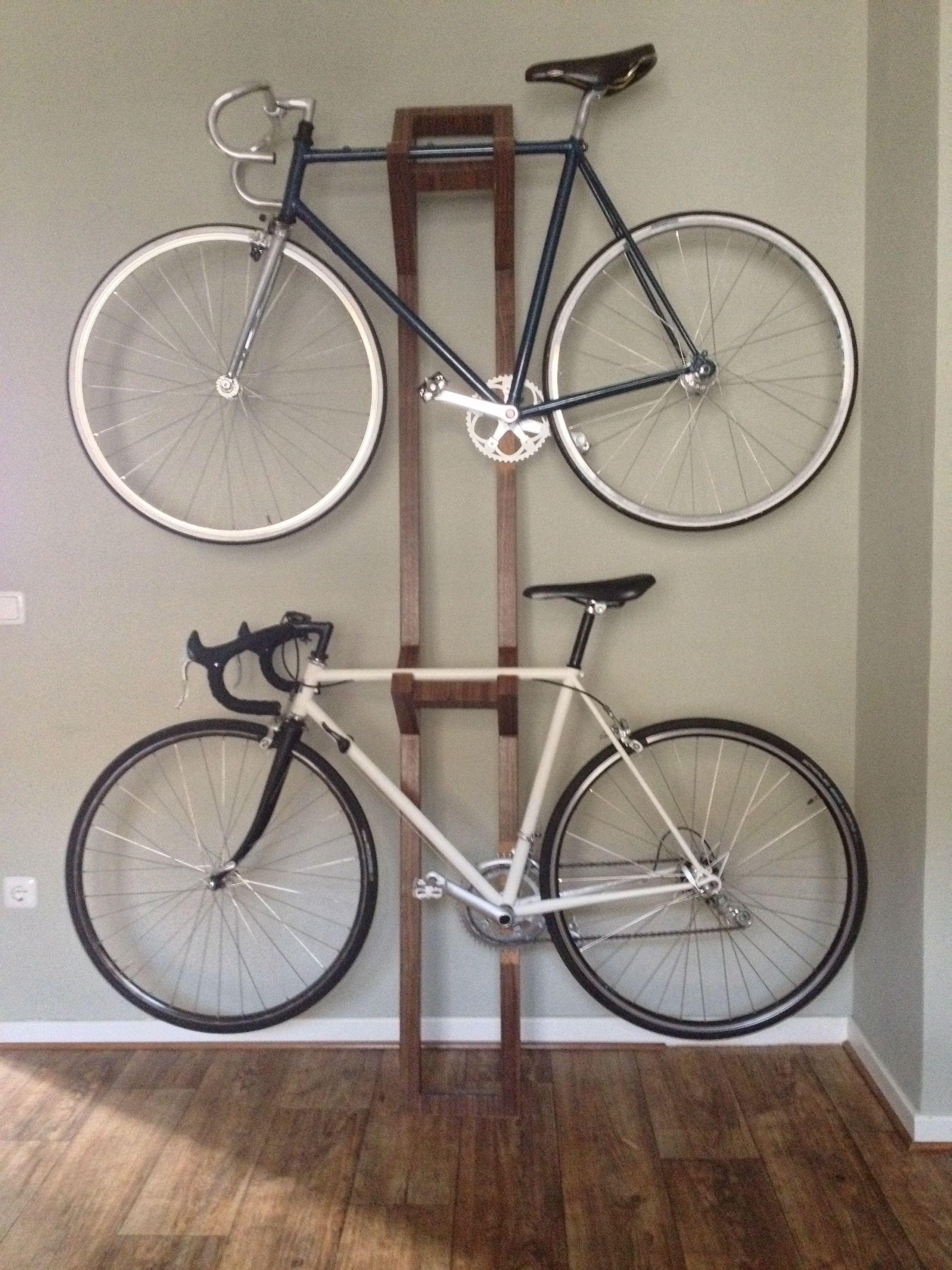 Handmade Bike Hanger Ii Bike Hanger Diy Bike Rack Bike Storage