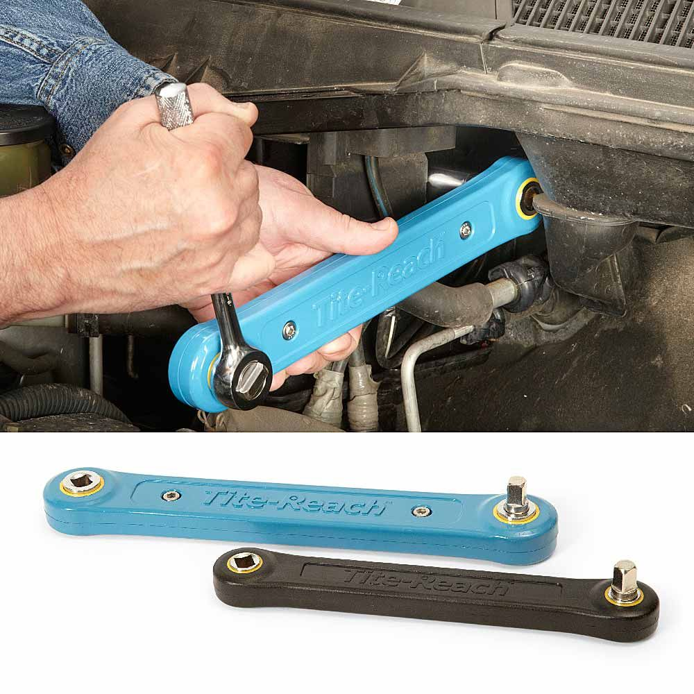 Reach Into Tight Places With A Ratchet Extender Loosen Or
