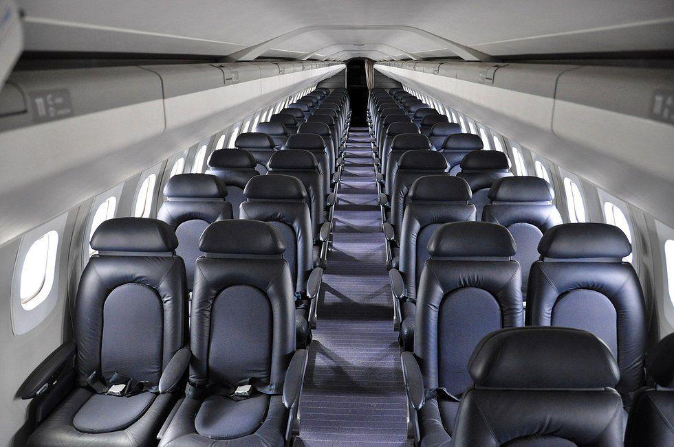 Aérospatiale/BAC Concorde. (British Airways Interior.)