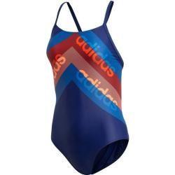 Adidas Damen Badeanzug Fitness Training Suit Lineage, Größe 44 in Braun adidasadidas #fitness traini...