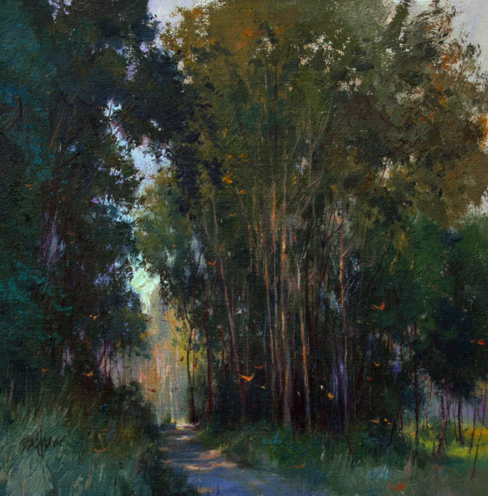 Kenn Backhaus landscape painting Study to Studio online course. Click visit to learn more. #LandscapeArtwork