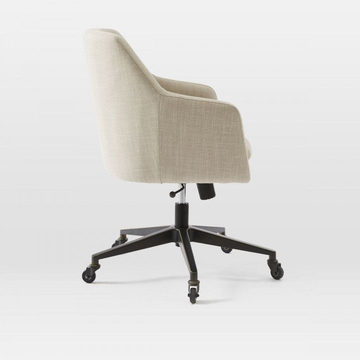 Desk Chair Upholstered Guest Desk Decorating Ideas Dengan Gambar