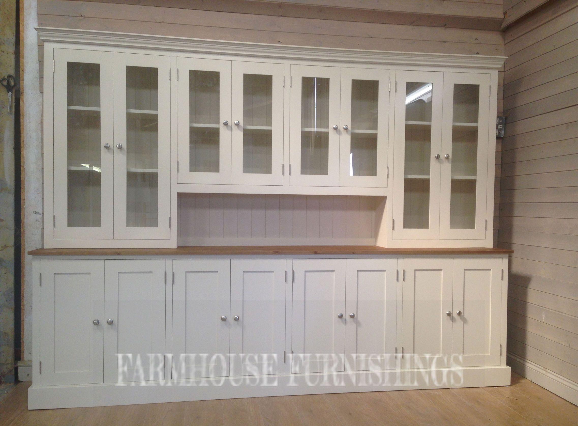 9ft Pine Welsh Dressers Pine Kitchen Kitchen Dresser Built In