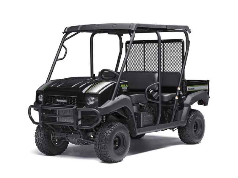 New 2017 Kawasaki Mule 4010 Trans 4X4 SE ATVs For Sale in Oregon. 2017 Kawasaki Mule 4010 Trans 4X4 SE, 2017 Kawasaki Mule 4010 Trans 4X4® SE THE KAWASAKI DIFFERENCE GREAT LOOKS, COMFORT AND CONVENIENCE HIGHLIGHT THIS SPECIAL EDITION. THE MULE 4010 TRANS4X4® SE SIDE X SIDE IS A VERSATILE MID-SIZE TWO TO FOUR-PASSENGER SIDE X SIDE THAT S CAPABLE OF PUTTING IN A HARD DAY OF WORK AS WELL AS TOURING AROUND THE PROPERTY. 617cc fuel-injected, V-twin engine produces reliable performance SE features…