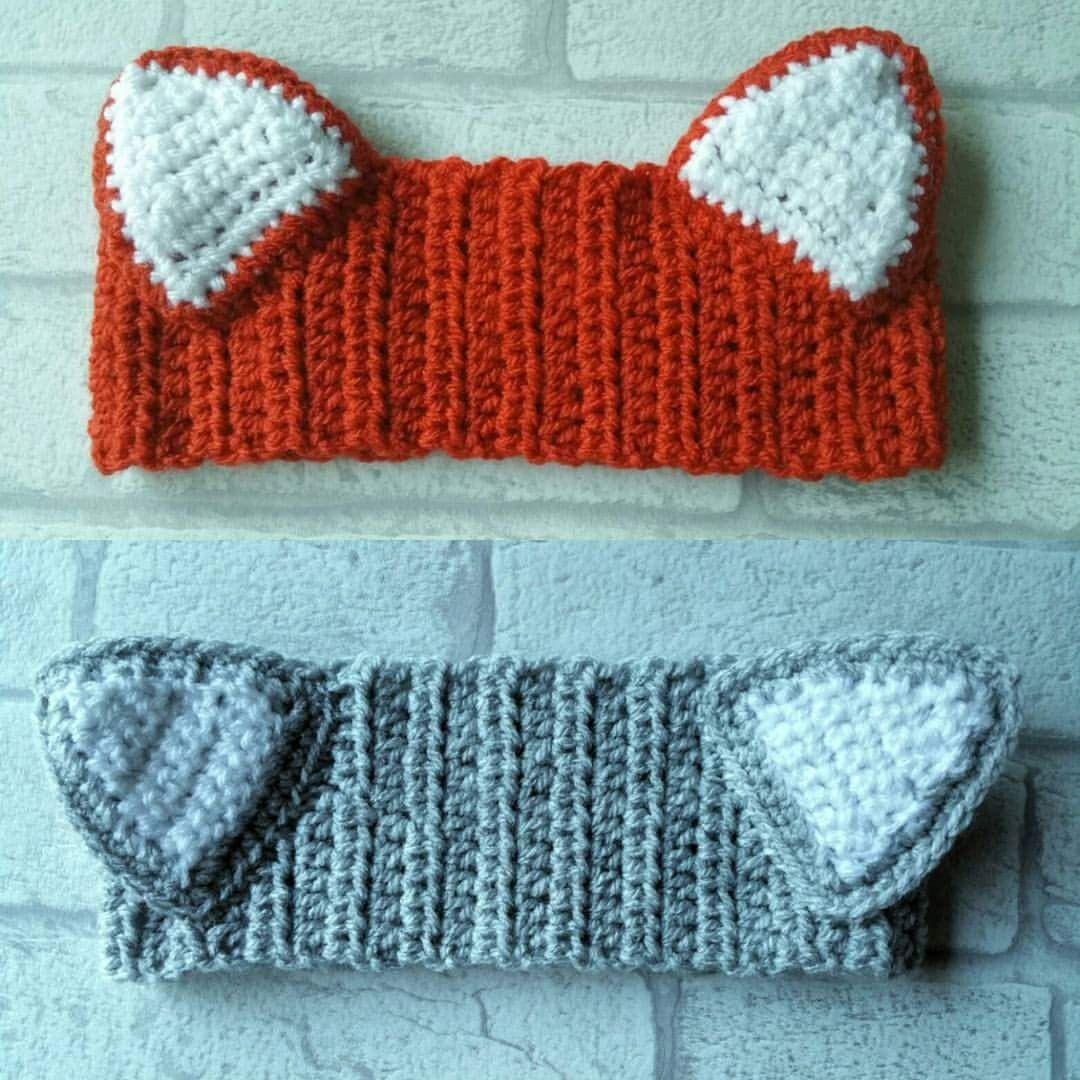 Fox headband pattern digital crochet pattern adult sized child fox headband pattern digital crochet pattern adult sized child toddler crochet patterns bankloansurffo Choice Image