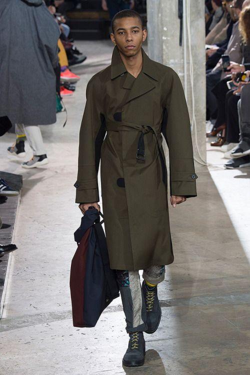 Lanvin FW17.  menswear mnswr mens style mens fashion fashion style lanvin runway