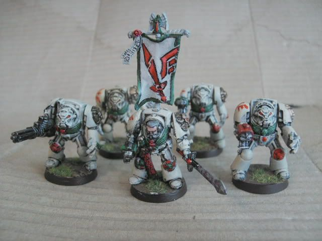 Dark Angels Deathwing Apothecary bits