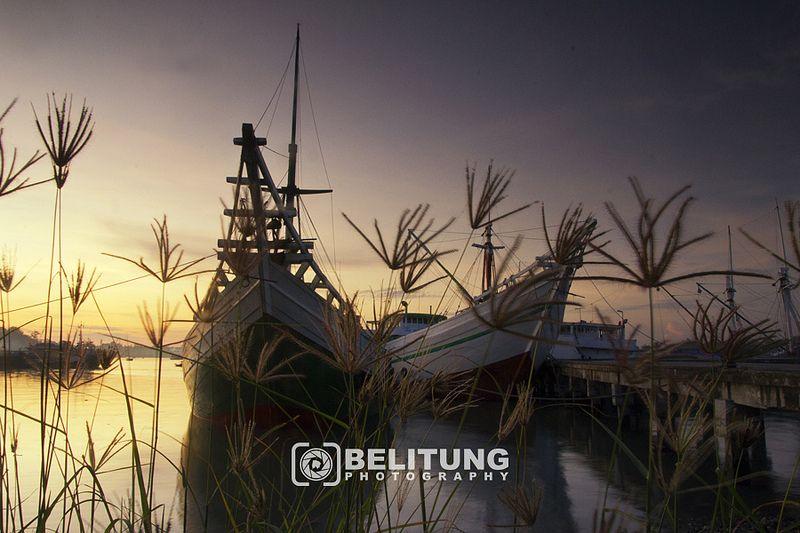 Belitung - Sunrise Pelabuhan Tanjungpandan