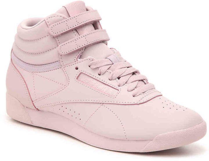 Reebok Freestyle Hi High Top Sneaker Women's   Womens high