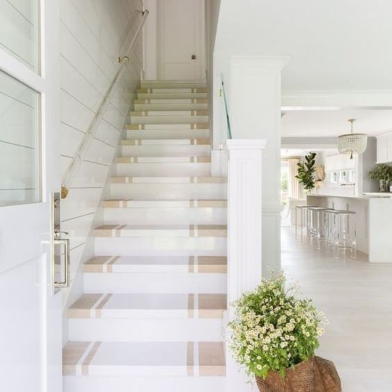 20 Attractive Painted Stairs Ideas: Craving A Little Springtime Flourish On This Wet And Rainy