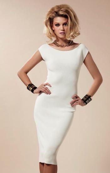 a44f2e11a87a vestido tipo lapiz en blanco - Buscar con Google | Cosas que ponerse ...