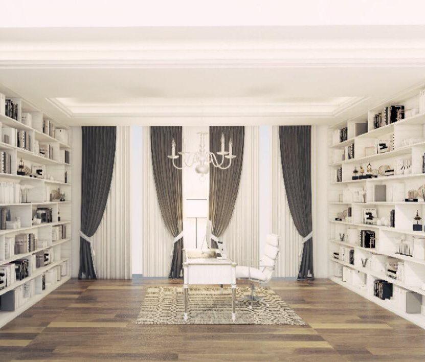 تصميم مكتب برايڤت ضمن جناح غرفة النوم الرئيسية في ابوظبي Home Home Decor Decor