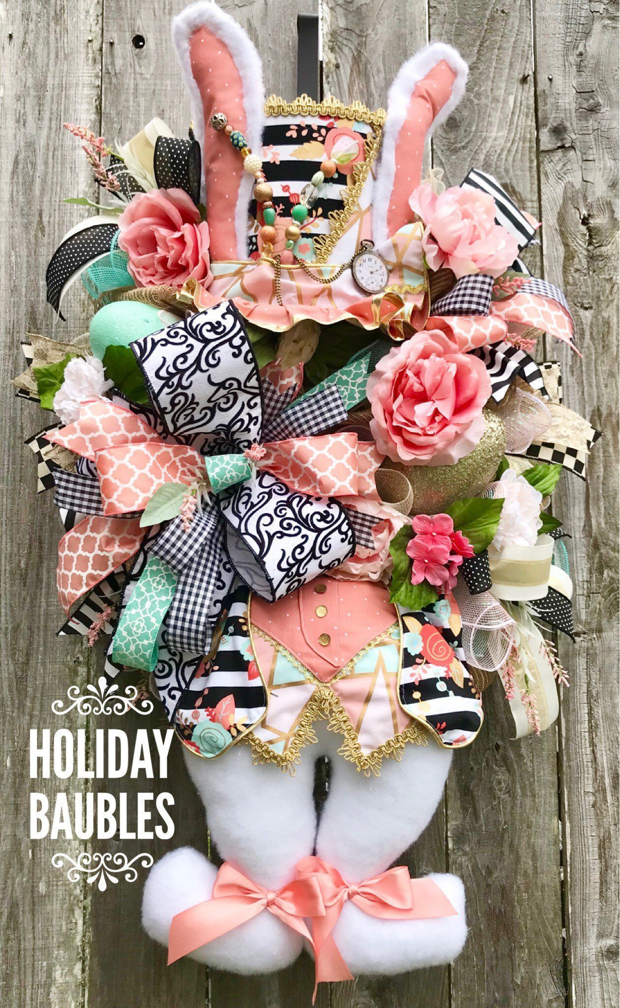 Easter Wreath, Mad Hatter Bunny Wreath, Easter Double Door Wreath, Bunny Wreath, Mad Hatter Wreath, Easter Shabby Chic Wreath, Easter Decor #doubledoorwreaths Excited to share this item from my #etsy shop: Easter Wreath, Mad Hatter Bunny Wreath, Easter Double Door Wreath, Bunny Wreath, Mad Hatter Wreath, Easter Shabby Chic Wreath, Easter Decor #doubledoorwreaths Easter Wreath, Mad Hatter Bunny Wreath, Easter Double Door Wreath, Bunny Wreath, Mad Hatter Wreath, Easter Shabby Chic Wreath, Easter D #doubledoorwreaths