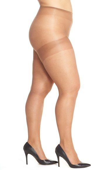 206a09664 Nubian Skin  Curve  15 Denier Tights (Plus Size) available at  Nordstrom