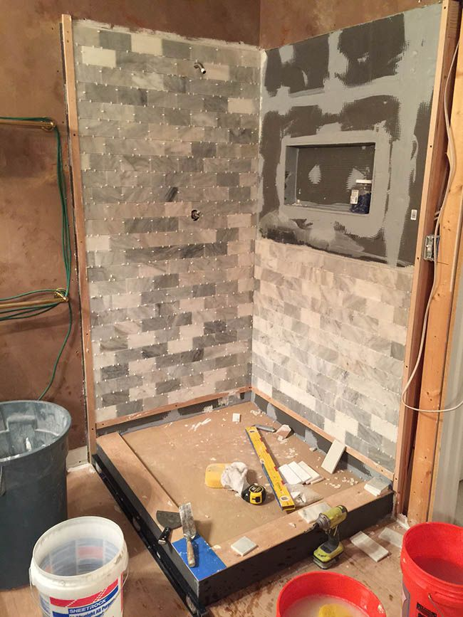 Wedi Shower Systems Backerboard, Glass Block Shower Kits, Shower ...