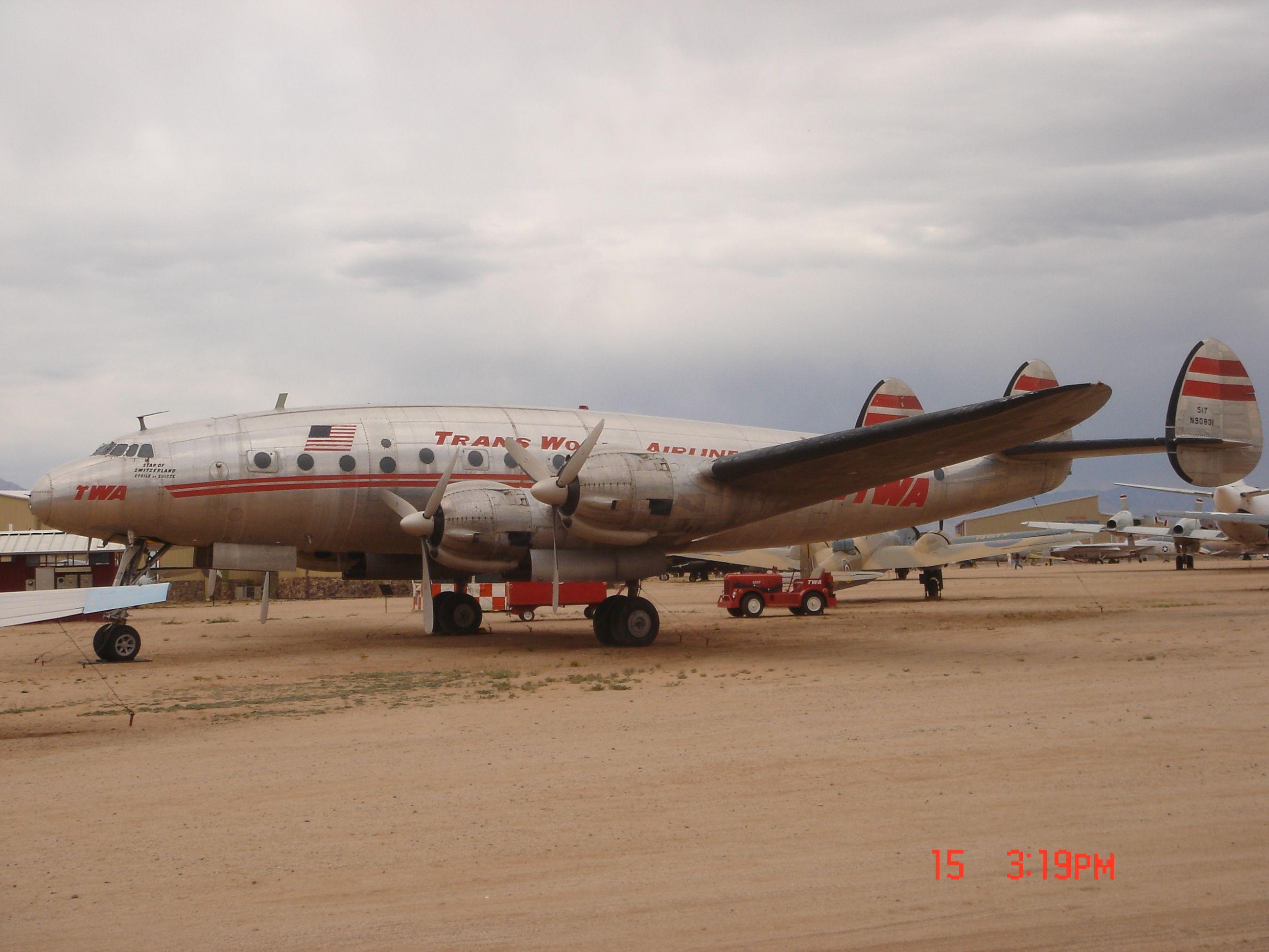 Lockheed Constellation Tucson Aircraft Museum Aircraft