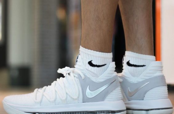 pretty nice 92aad bc865 This Is How The Nike KD 10 Looks On-Feet | Street Styles ...