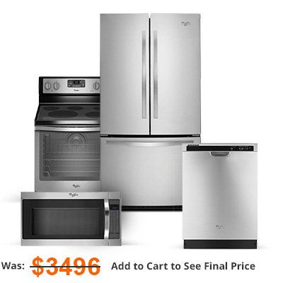 Maytag Stainless Steel Refrigerator 4 Piece Package Appliance
