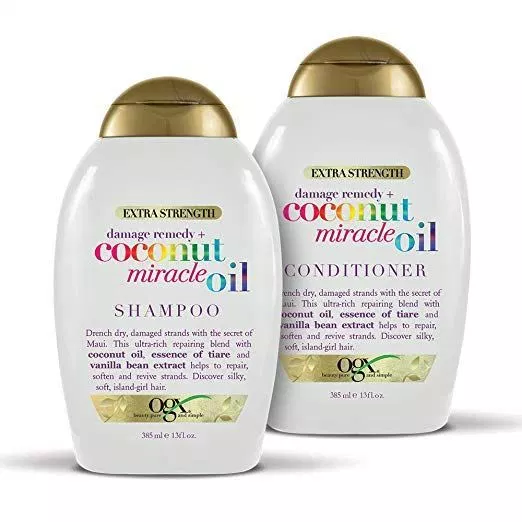 Ogx Coconut Oil Top 5 Best Coconut Oil Shampoos In 2019 Review Product Rapid Coconut Oil Shampoo Oil Shampoo Good Shampoo And Conditioner