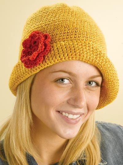 AS RECEITAS DE CROCHÊ  Chapeu de croche p adulto  308f2dfc71a