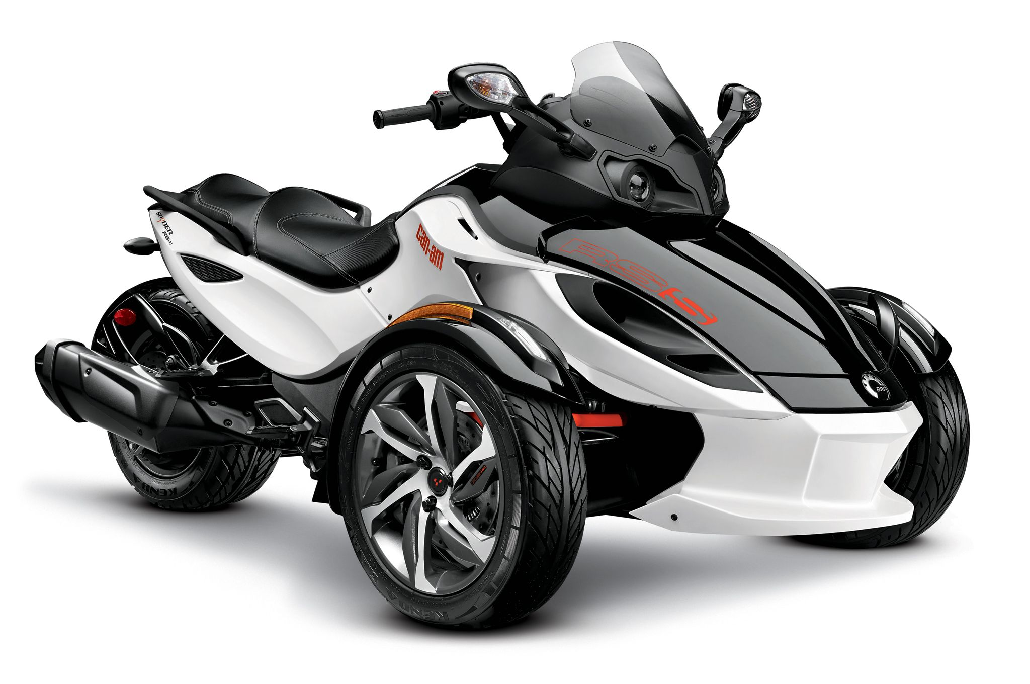 2014 can am spyder rs s black white