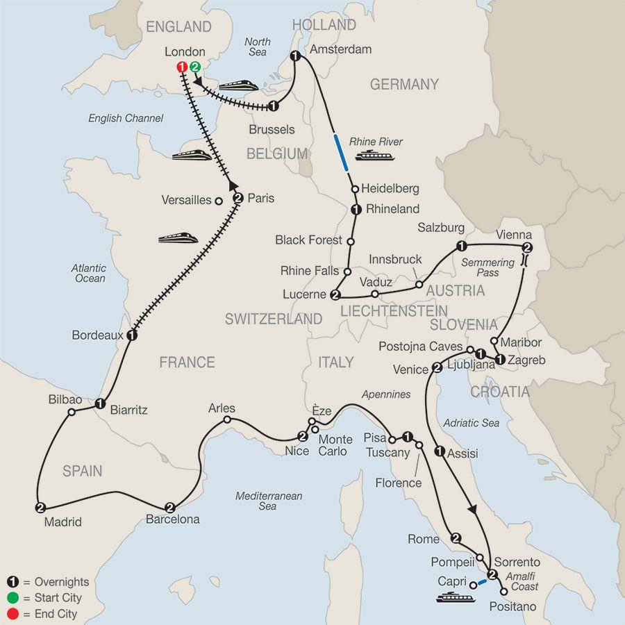 European Ed Tours Travel