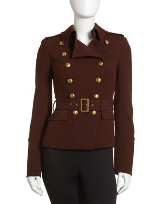 Rachel Zoe   Lauren Military Jacket, Auburn  Compare to:$525.00  Our Price:$335.00  EXTRA 50% OFF