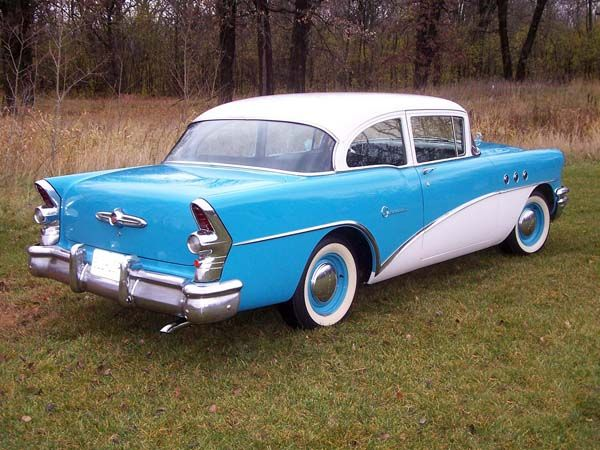 Buick 2-dr post 1955