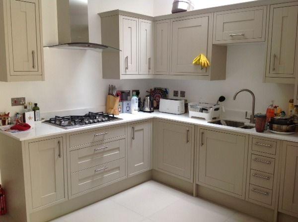 Howdens Burford Kitchen Grey Or Stone Mumsnet