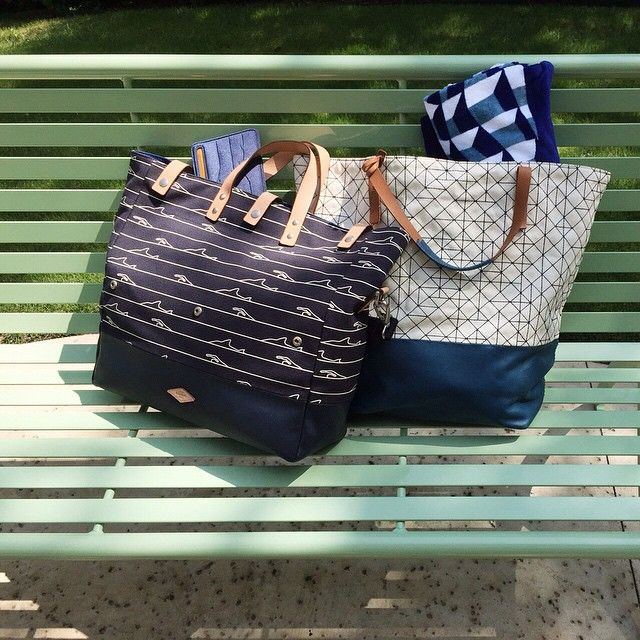 We're tote-ally ready for beach days with our summer totes.