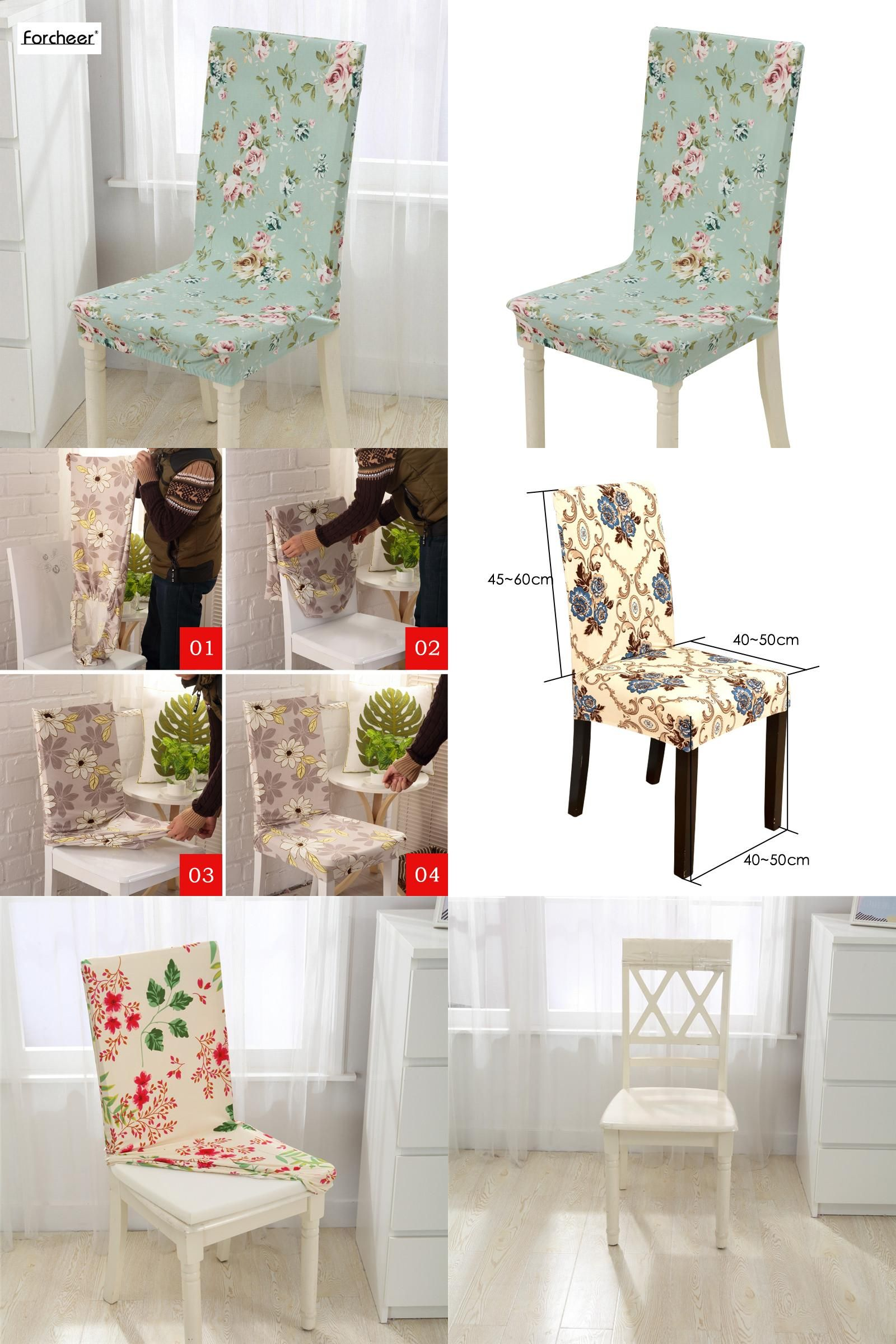 Furniture, Red Leaves Floral Pattern Summer Accent Chairs Matching ...