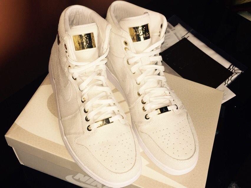 Nike Air Jordan 1 Pinacle Blanc Ebay Usa