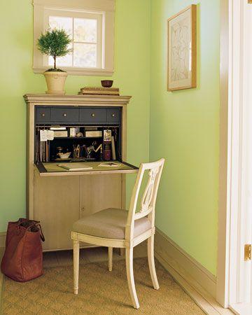 Enjoyable 17 Best Images About Diy Desk On Pinterest Mini Office Hallway Largest Home Design Picture Inspirations Pitcheantrous
