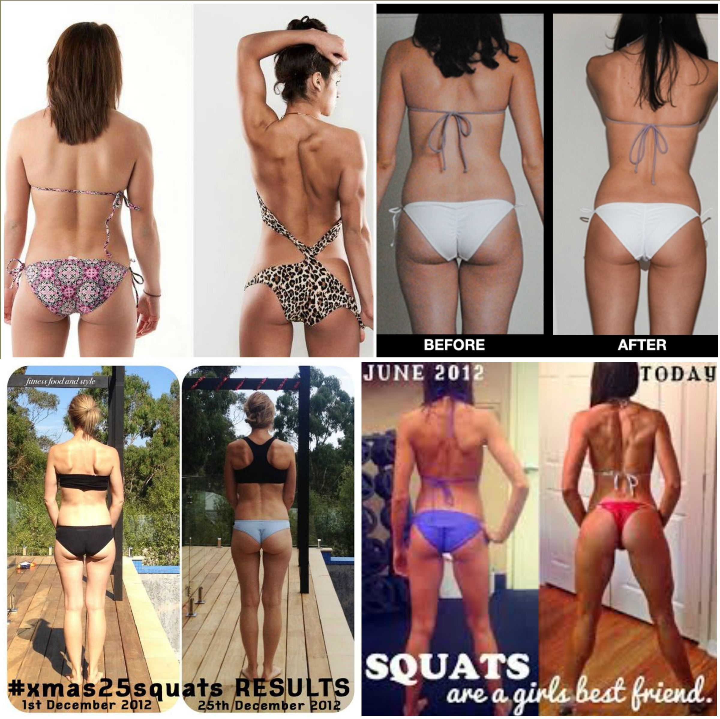 Things, speaks) Girls that do squats with