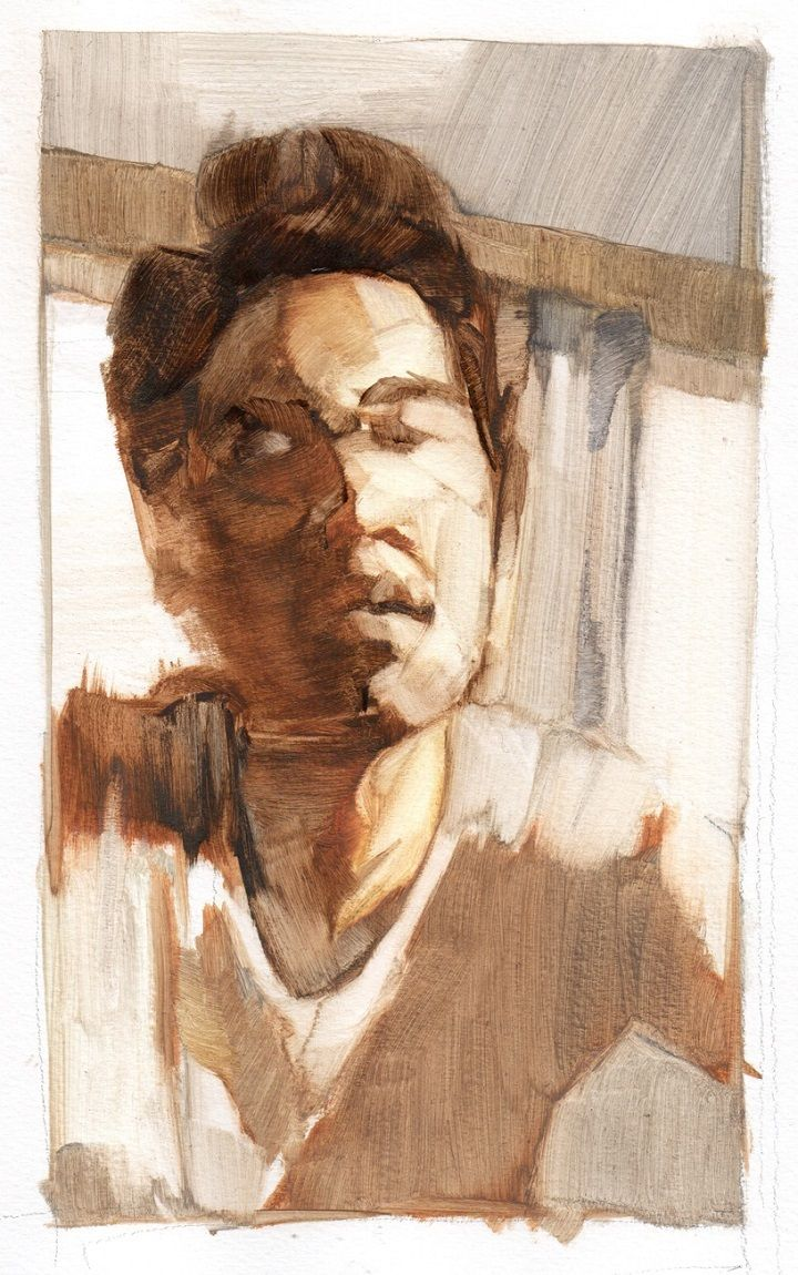 Kimberly Klauss Wins Heat 1 Of Sky Arts Portrait Artist Of The Year Cass Art Portraiture Drawing Artist Portrait Art