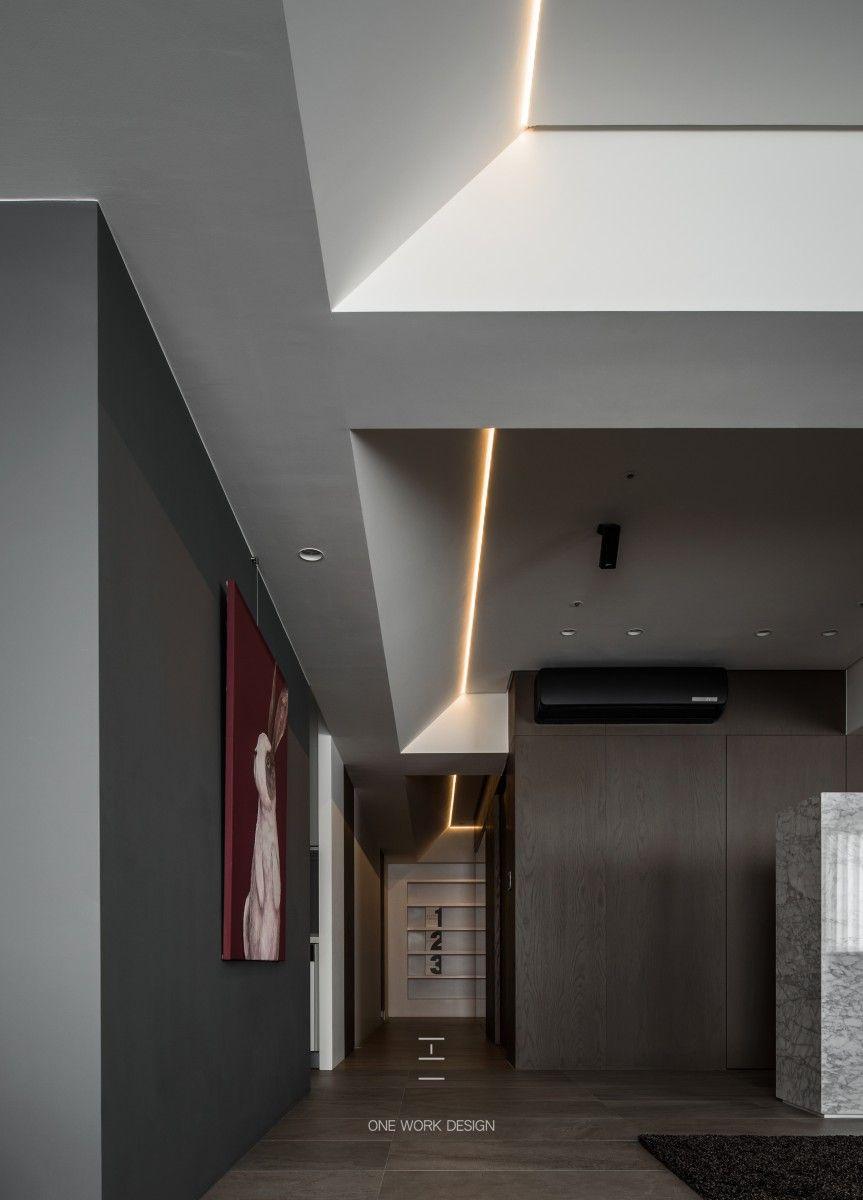 W宅 – 工一設計 | Living room | Pinterest | Ceiling, Ceilings and ...