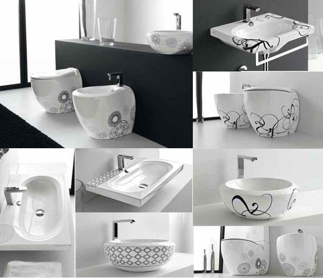 Patterned Bathroom Sinks Unique Suite