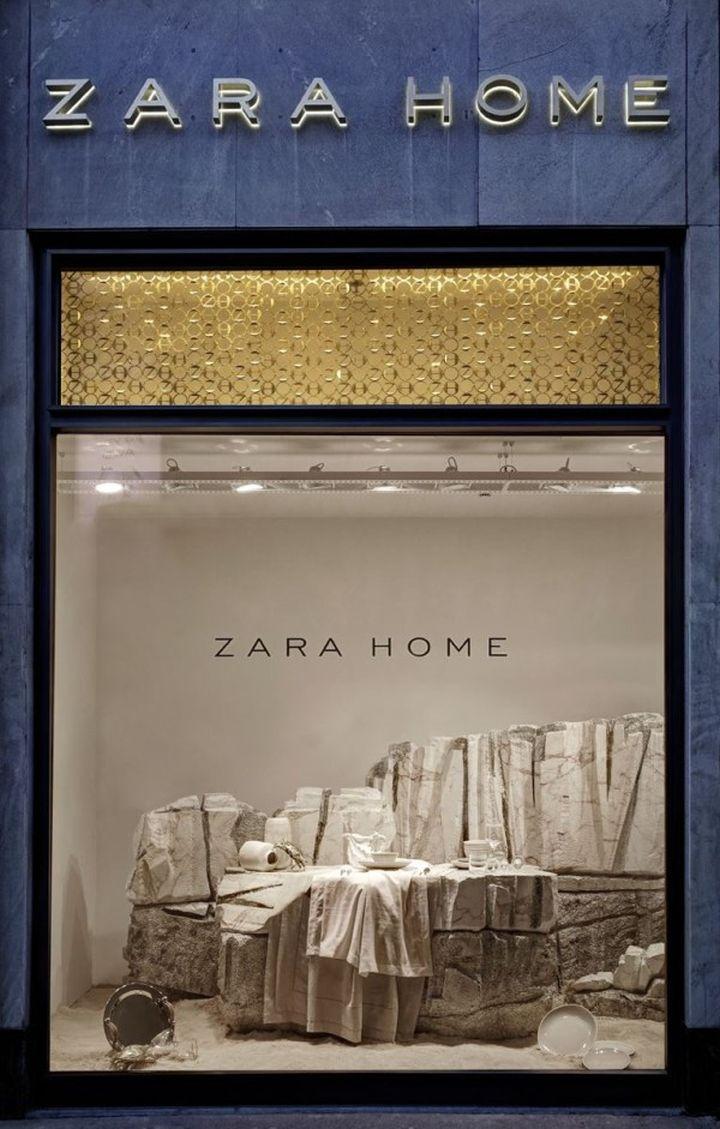 Zara home windows milan italy 2019 s t o r e d e c - Zara home es ...