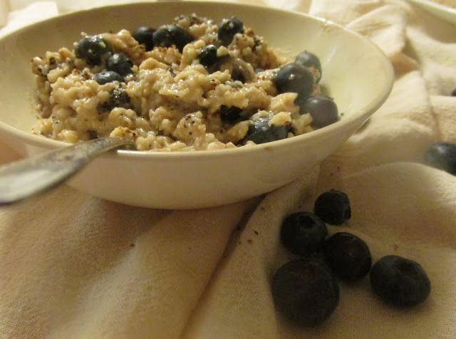 Oatgasm: Blueberry Lemon Poppy Seed Oatmeal