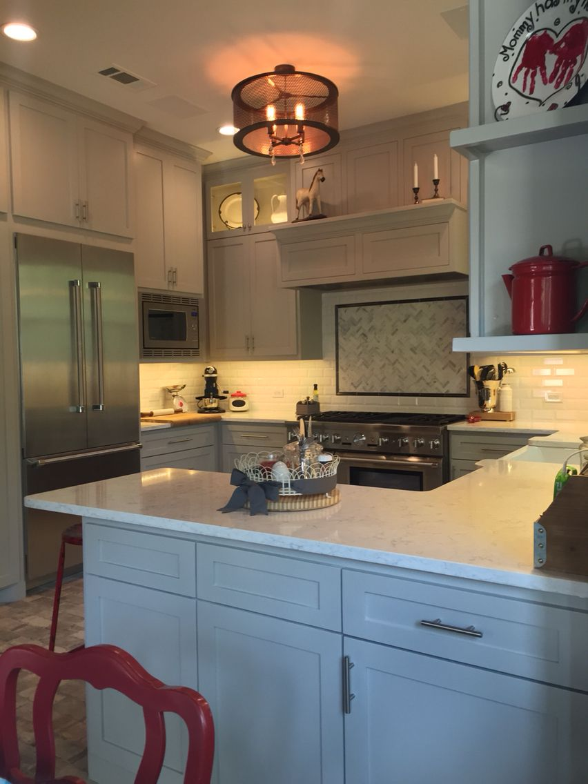 My New Kitchen Countertops Quartz Viatera Color Minuet Cabinet Color Mindful Grey Sw Walls