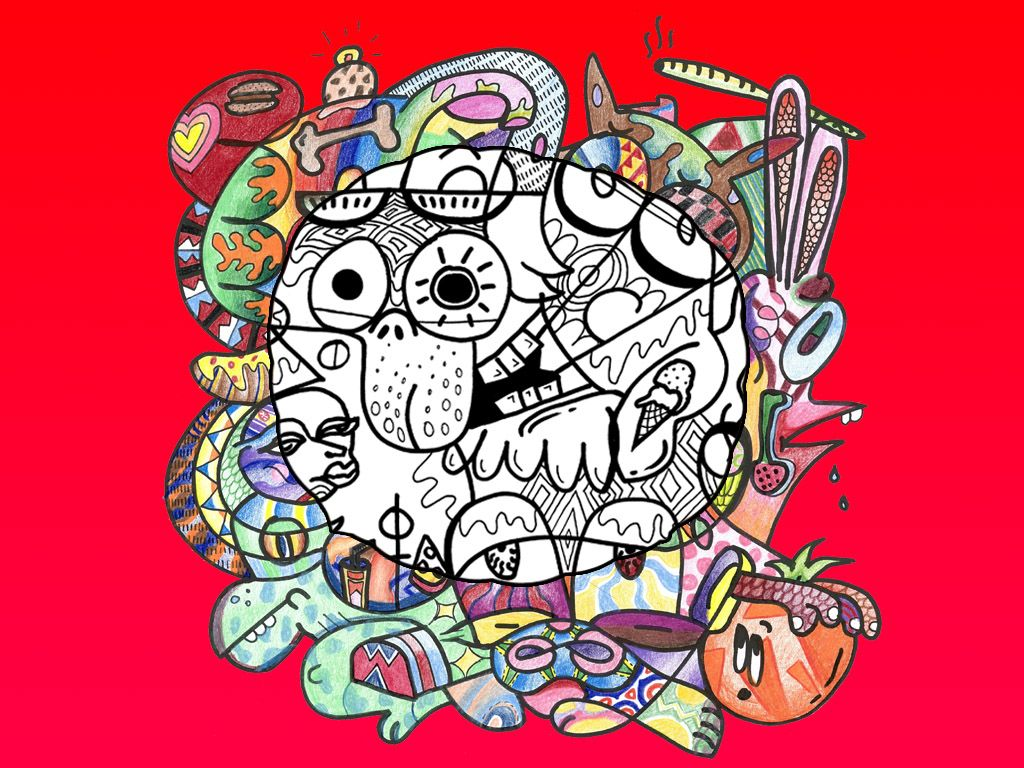 Stoned and coloring | Stoner\'s Coloring Book | Pinterest | Coloring ...