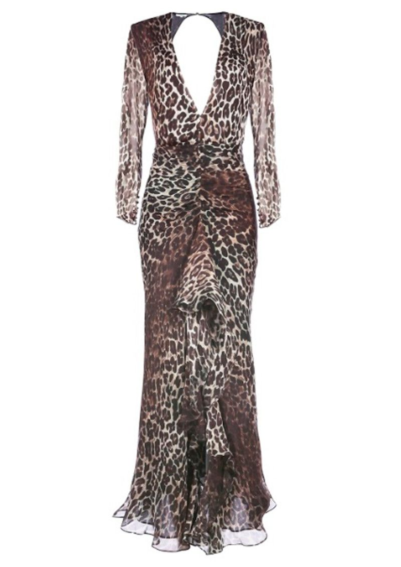 Rixo london rose silk dress leopard erica pinterest silk
