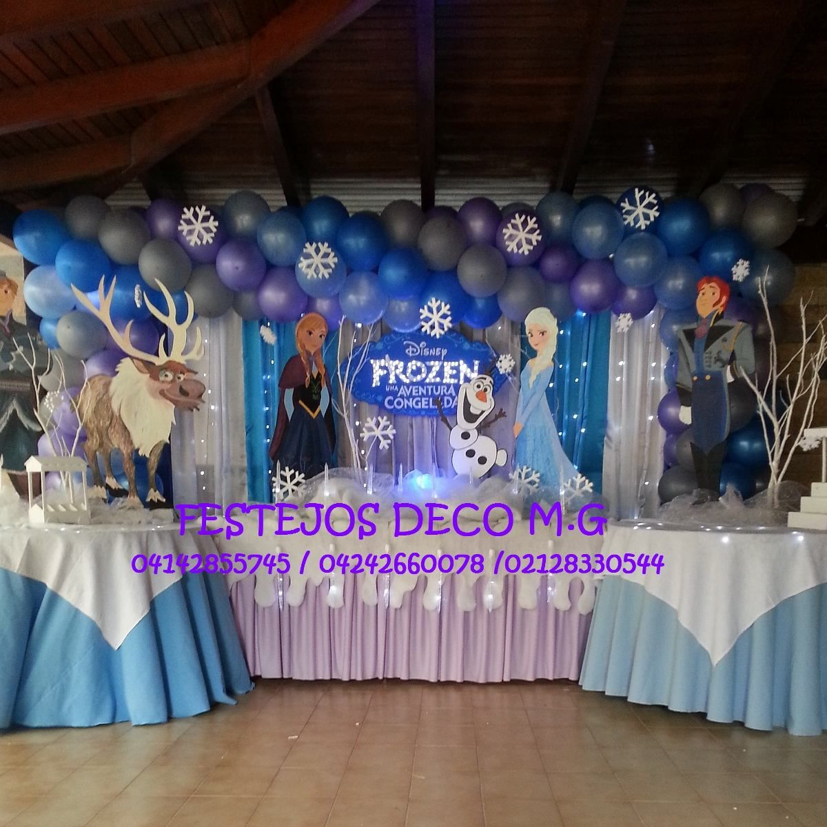 decoracion frozen buscar con google frozen pinterest