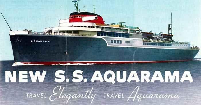 The Aquarama Great Lakes Ships Cruise Ship Names Passenger Ship