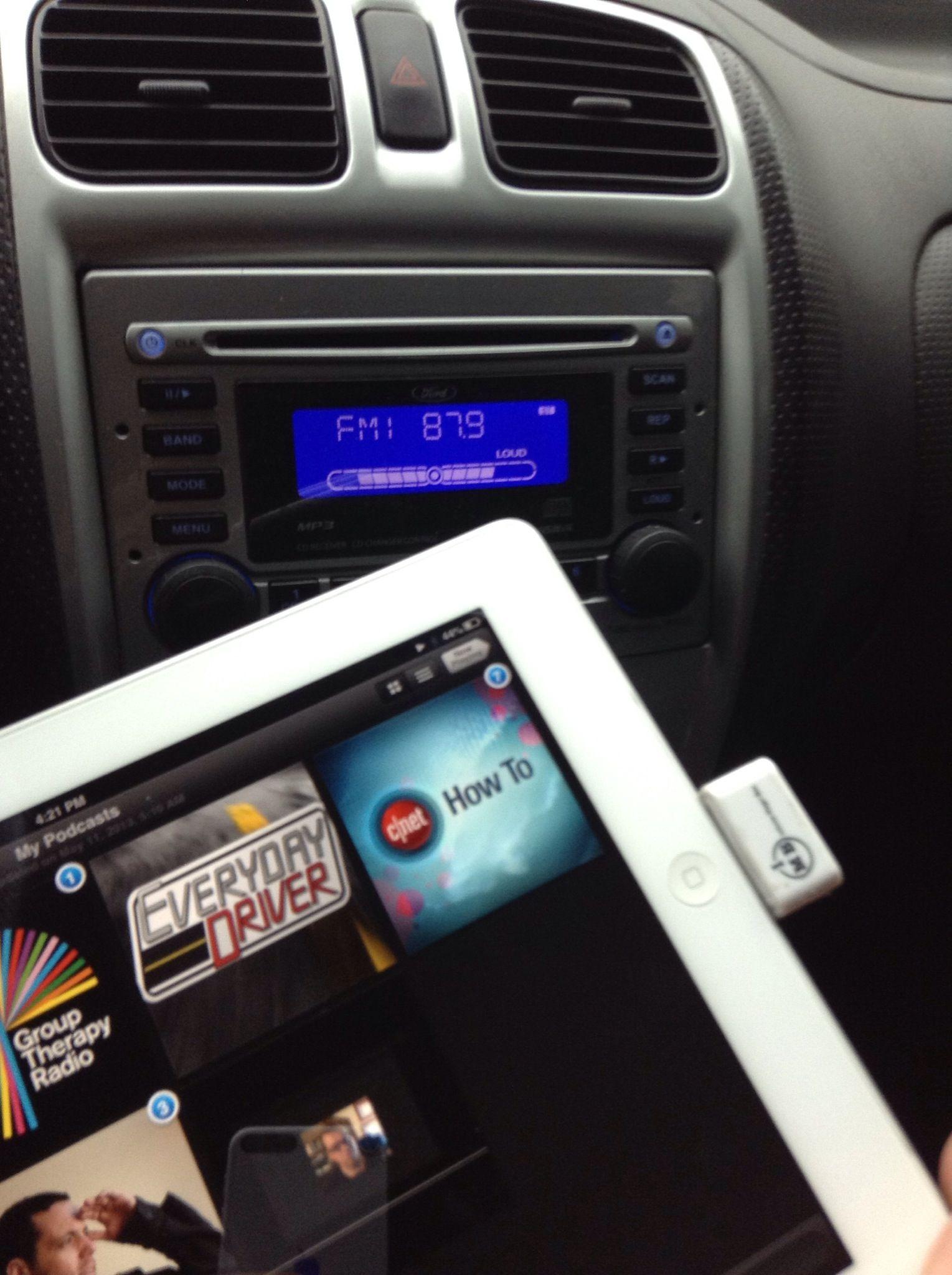 How To Connect Ipad2 To Car Radio Wirelessly No Bluetooth Recipe Car Radio Radio Car