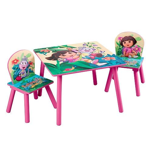 Dora the Explorer 10th Anniversary Table and Chair Set from ToysRUs ...