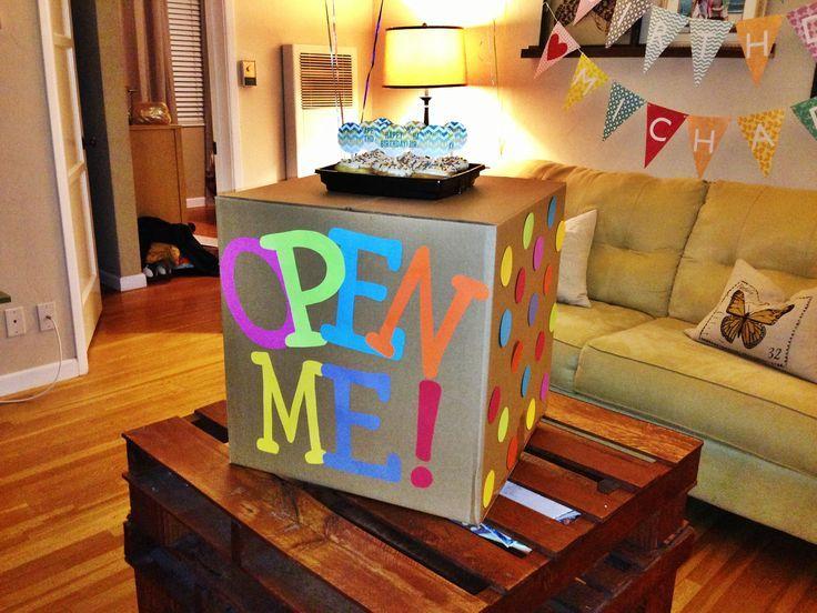 Caja sorpresa regalos hechos pinterest sorpresa - Ideas para sorprender en un cumpleanos ...