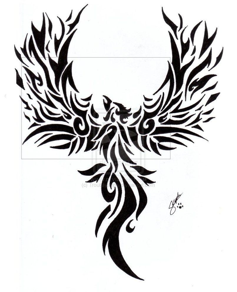 e6d2bcd29 Tribal Phoenix Tattoo by ~Troublestripe on deviantART | Tattoo Ideas ...